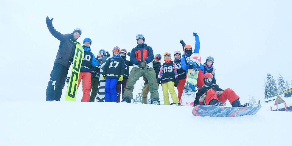 Ferie Snowboardowe 13-17.01.2020