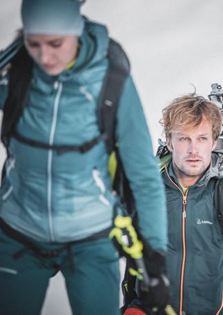 Skitouring Sport Model Andreas Müllner Foto by Manuel Kottersteger