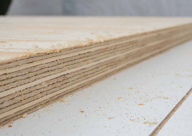Holzarbeiten Tiny Haus