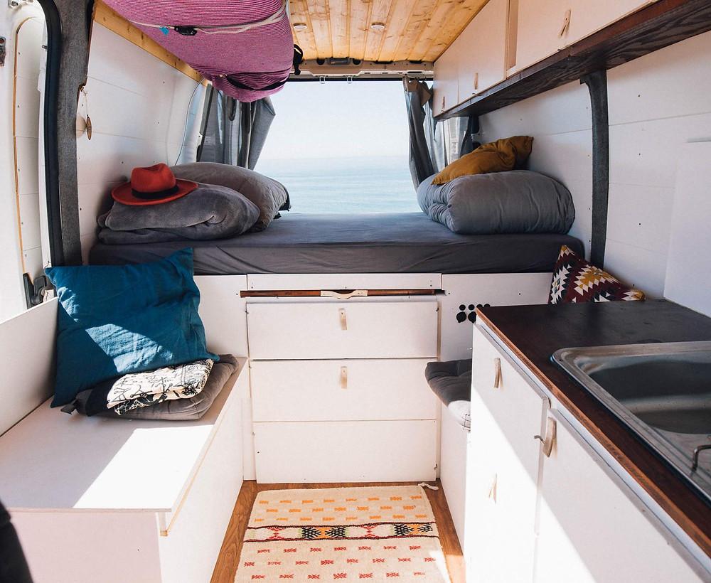 """Der Citroën Jumper L2H2 Camper von Kate und Andi hatte """"nur"""" 6qm Wohnfläche"""