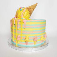 """Ice Cream"" vanilla cake"