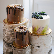Group of 3 cakes