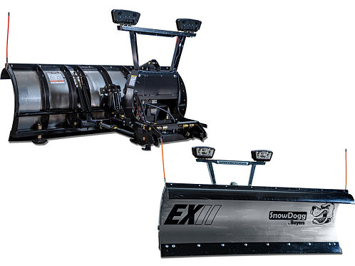 SnowDogg® EXII Snow Plow with RapidLink™ EX80II 96""