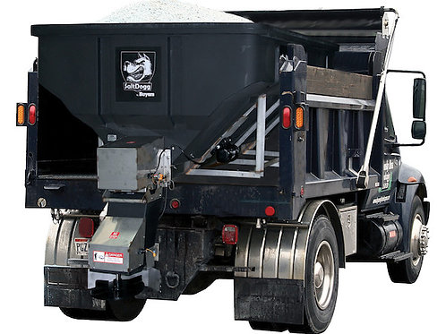 SHPE4000 SaltDogg®  Electric Poly Hopper Spreader with Auger