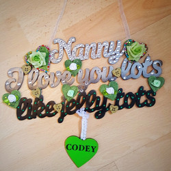 Hanging plaque - Nanny