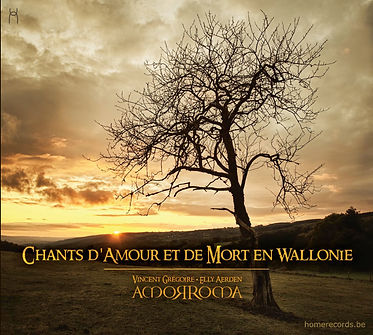 chants de wallonie, vincent gregoire, Amorroma