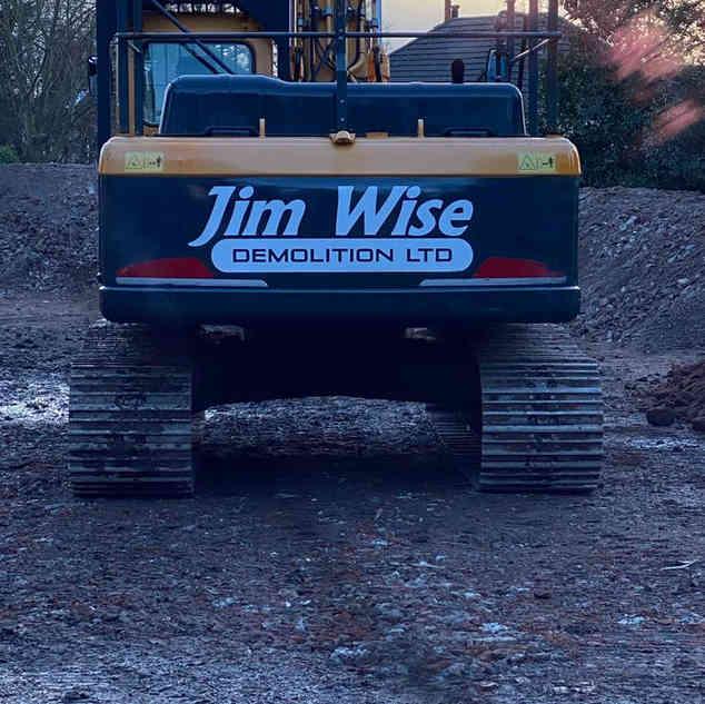 Expert Machinery | Jim Wise Demolition