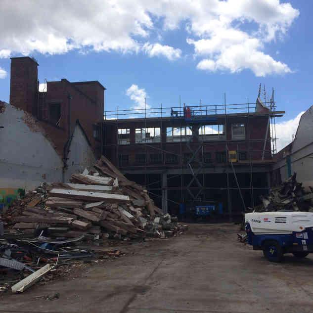 Demolition Contractor Project in Willenhall | Birmingham