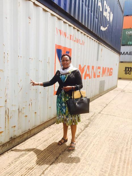 6.238 kg auf dem Weg nach Uganda