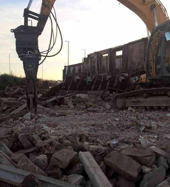 Gateway to Wales Demolition in Cheshire | Jim Wise Demolition
