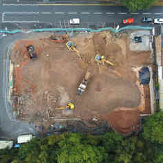 Demolition Project In Shropshire Air Dro