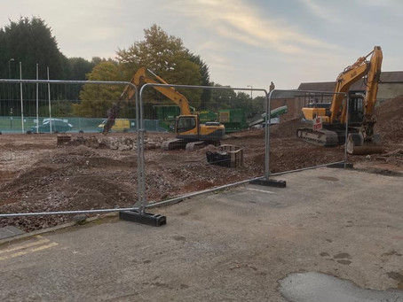 Demolition Works Complete at former Mclaren & Rolls Royce Site at Crofton Hackett