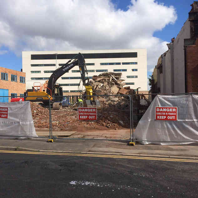 Demolition Project in Coventry | Jim Wise Demolition