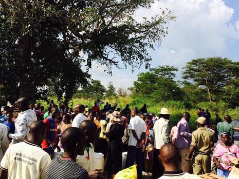 Hungerhilfe Ostafrika Uganda,