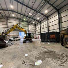 Demolition Project of Industrial Unit in Essex | Jim Wise Demolition