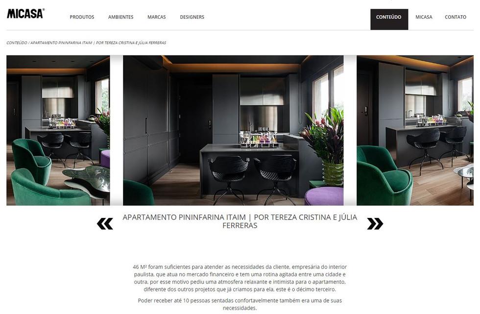 Publicação portal MICASA