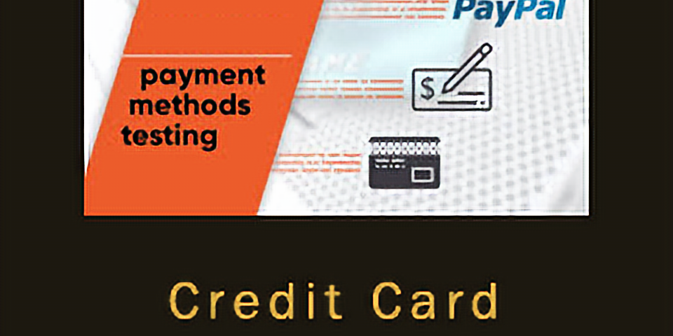 Test Credit Card Payment
