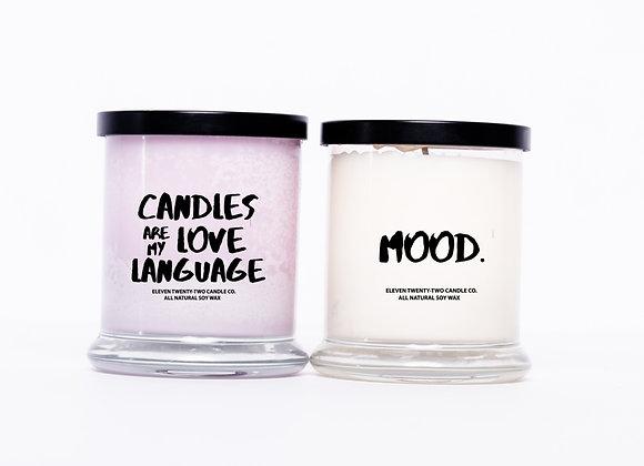 LOVE LANGUAGE/MOOD COMBO