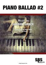 PIANO BALLAD #2, PIANO BALLAD NO.2 - SHARON FARBER