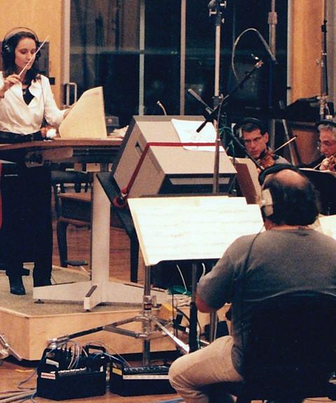 Sharon conducting at FOX