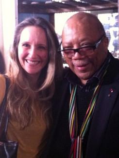 With Quincy Jones