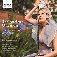 THE ANCIENT QUESTION CD, SHARON FARBER, HILA PLITMANN