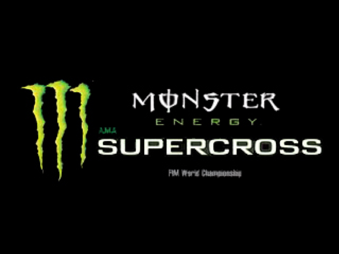"""Supercross"" games logo"