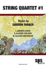 STRING QUARTET #1, STRING QUARTET NO.1 - SHARON FARBER