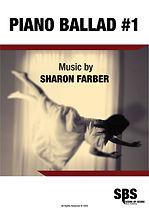 PIANO BALLAD #1, PIANO BALLAD NO.1 - SHARON FARBER