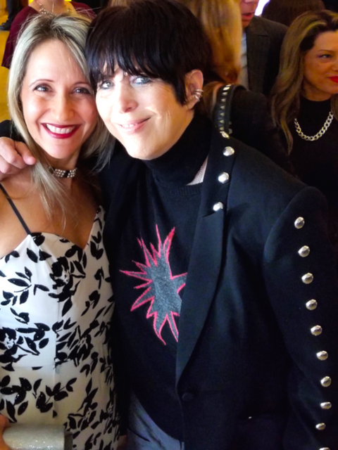 With 10 time OSCAR nominee Song writer Diane Warren