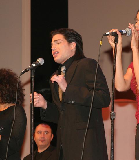 Adam Lambert singing Sharon Farber