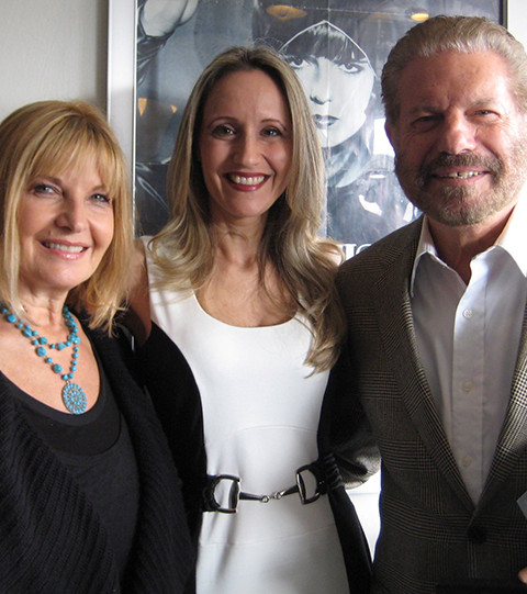 with Mike and Ziona Burstyn