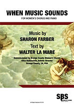 WHEN MUSIC SOUNDS SCORE - SHARON FARBER