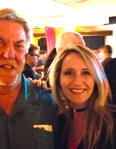 With famed actor Bruce McGill