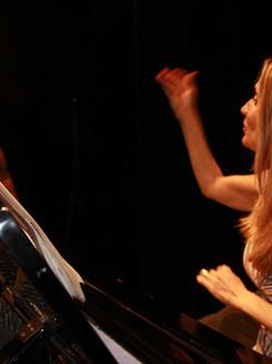 Sharon Conducting from piano