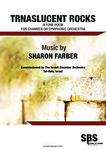 TRANSLUCENT ROCKS SCORE - SHARON FARBER