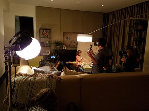 Transparent shooting set