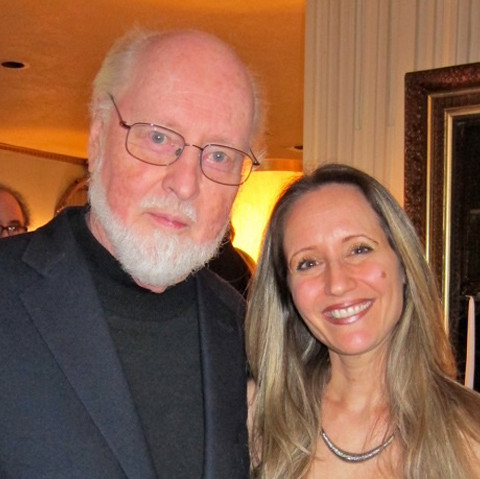 With the one and only, John Williams