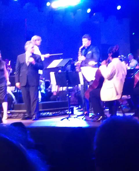 Dave Koz playing Sharon's music