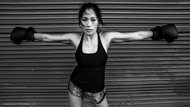 Andy Hawes Photography, Kim Buhay Muay T