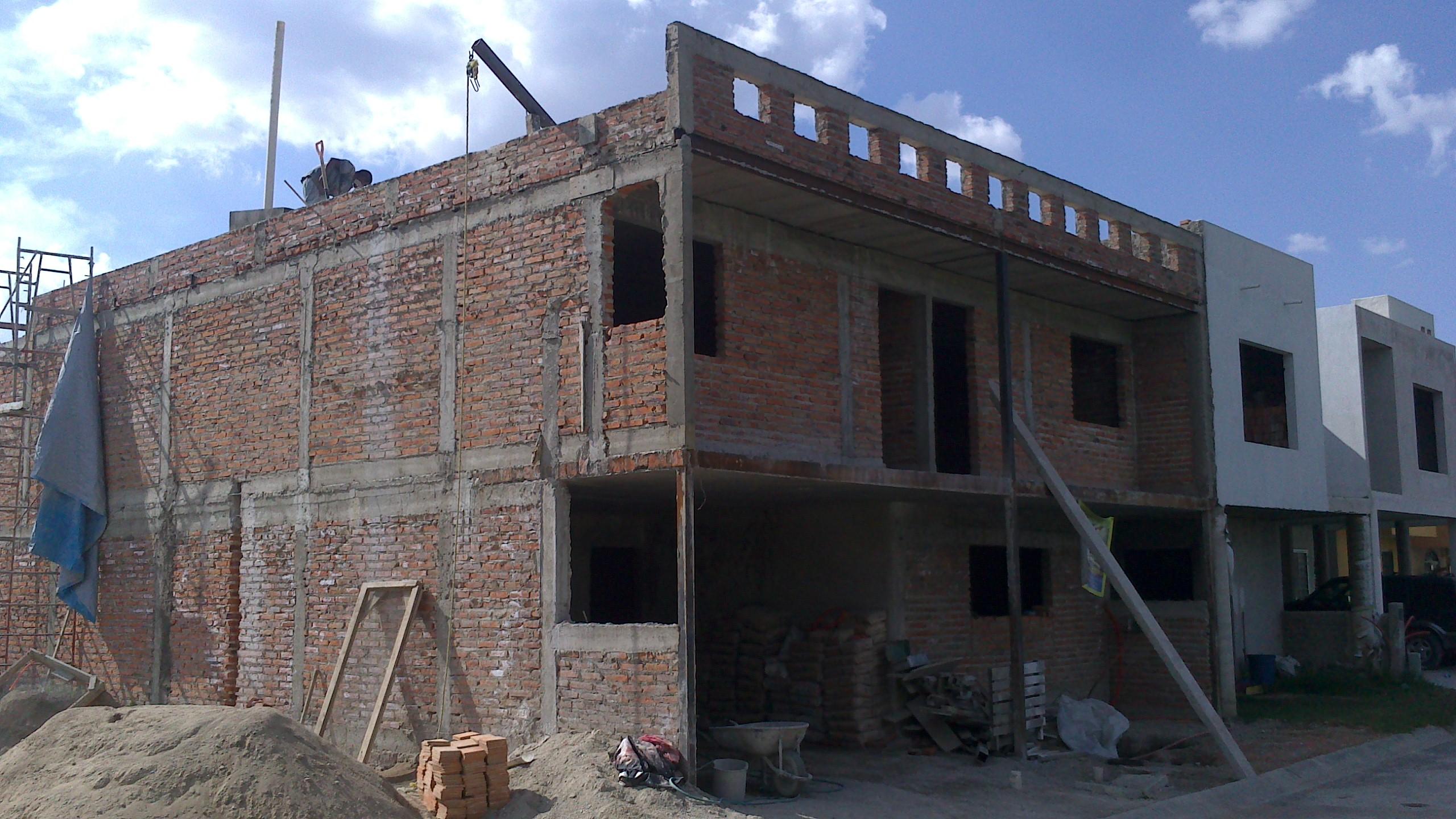 construcción sin enjarres frontal