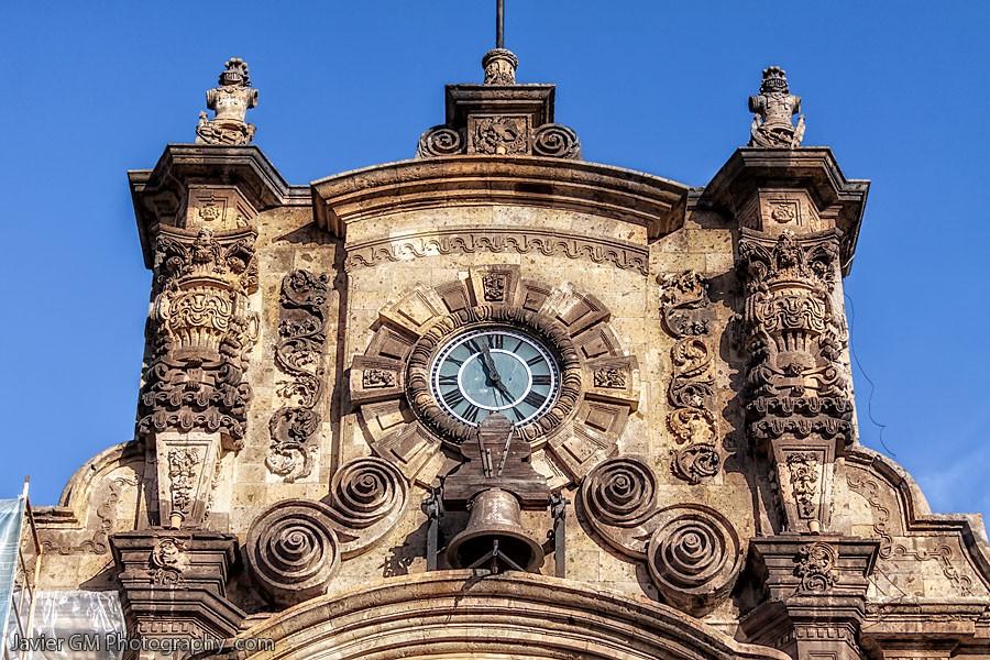 palacio de gobierno guadalajara reloj  javiergmphotography.com