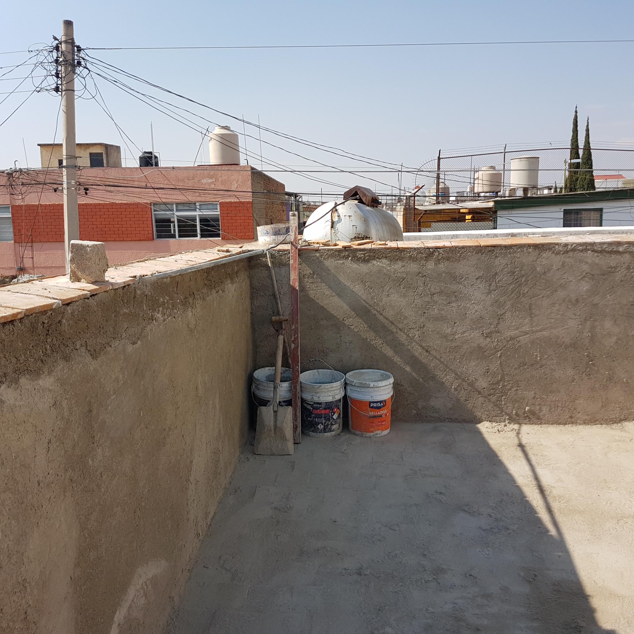 construcción y reparación de pretil