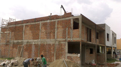 construcción sin enjarres