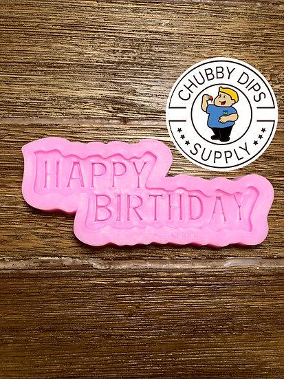 Happy Birthday Mold
