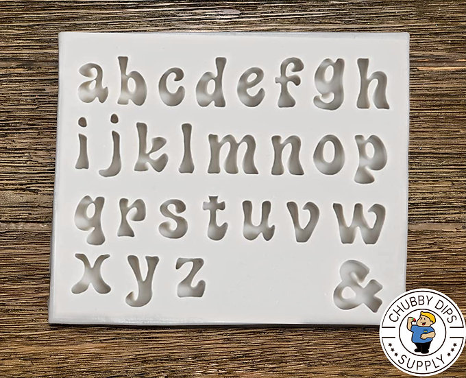 Groovy Letter Mold Lowercase