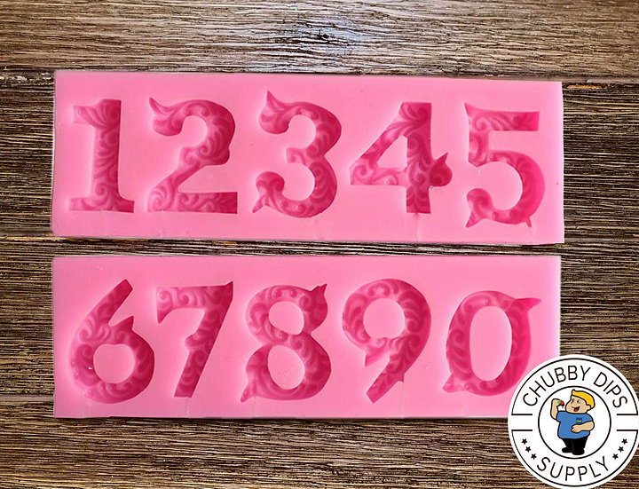 Decorative Number Mold