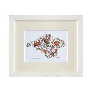 IW Crustacean Sml Print (Frame)