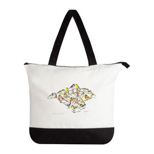 IW Bird Lrg Tote Bag