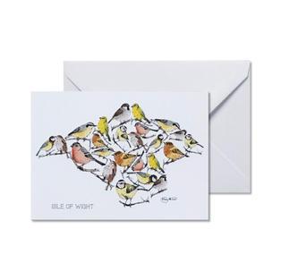 IW Bird Greetings Card